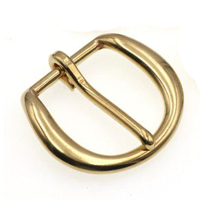7.1 1 x Solid brass Heel bar buckle end bar belt half buckle single pin for leather craft bag belt strap webbing clasps