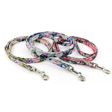 将图片加载到图库查看器,8.2 1Floral Dog Leash Fashion Retro Leash For Small Dogs Puppies Pup Mini Teddy Samoyed Yorkie Dog Leashes Leads Pet Accessories