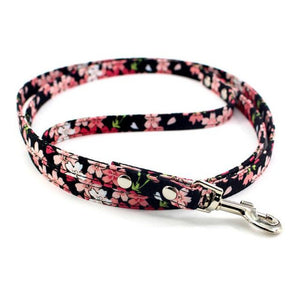 8.2 1Floral Dog Leash Fashion Retro Leash For Small Dogs Puppies Pup Mini Teddy Samoyed Yorkie Dog Leashes Leads Pet Accessories