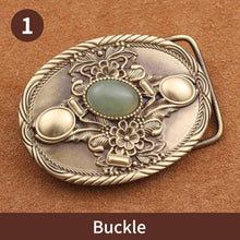 将图片加载到图库查看器,0 Luxury Gold Series Metal Belt Buckle Western Cowboy Boots Shoes Buckles Fit 4cm Wide Belt Men,Women Jeans,Clothes accessories