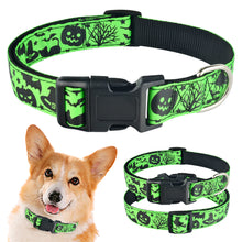 将图片加载到图库查看器,91 Adjustable Halloween Dog Collar Small Medium Large Male Female Pet Puppy Collar