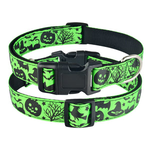91 Adjustable Halloween Dog Collar Small Medium Large Male Female Pet Puppy Collar