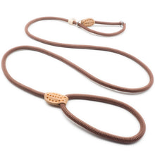 将图片加载到图库查看器,8.2 1P Chain Dog Leash Slip Collar pet Walking Leads Nylon Dog Mountain Climbing Rope puppy pet Traction For small Medium Large Dogs