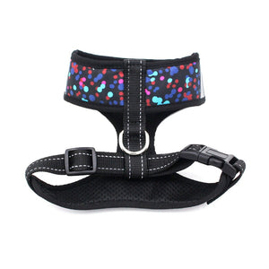 8.2 1 360 Degree Protective Dog Harness Breathable Polyester Harness for Small/Medium Dogs Pitbull Dog Supplies Pet Products