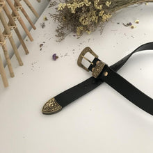 Load image into Gallery viewer, 7.1 35/40mm Solid Brass High Quality Carved Pin Belt Buckle Head Jeans Accessories DIY Hardware Decor Belt Leather Craft accessories