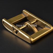 Load image into Gallery viewer, vintage solid brass material belt pin buckle  inner 40mm