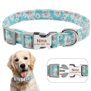92 Fashion Male Female Dog Collar Personalised Custom Engraved Pet ID Tag Nameplate