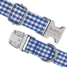 将图片加载到图库查看器,91 Nylon Personalised Dog Collar Custom Engraved Small Medium Large Dogs Puppy Pet