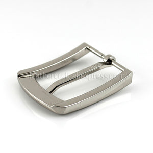 6 1pcs 35mm Metal Plating Belt Buckle Men End Bar Heel Bar Single Pin Belt Half Buckle Leather Craft Belt Strap for 32-34mm Belt