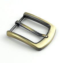 将图片加载到图库查看器,6 1pcs 35mm Metal Plating Belt Buckle Men End Bar Heel Bar Single Pin Belt Half Buckle Leather Craft Belt Strap for 32-34mm Belt