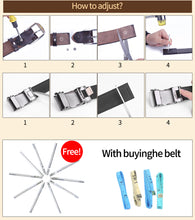 将图片加载到图库查看器,2 High Quality Genuine Leather Waist Strap Belt Female Square Pin Metal Buckle Belts Women's Belts for Jeans