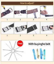 Load image into Gallery viewer, 2 Women Genuine Leather Belt Delicate Belts for Women Ladies Fashion Woman Girl Thin Strap Waistband For Dress Coat Jeans