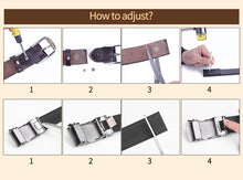 Load image into Gallery viewer, 2 Women's Thin Skinny Genuine Leather Belt Solid Color Cowhide Waistband Dress Jeans 1.5cm Width