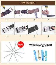 将图片加载到图库查看器,2 Belts for Women Fashion Female Genuine Leather Waist Belt Pin Buckle Vintage Women Designer Belts Strap Gifts 2.8cm Width
