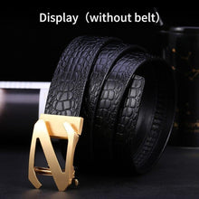 将图片加载到图库查看器,1 Solid Brass Simple Z Automatic Belts Buckle for Men Suitable Width 3.5CM Strap