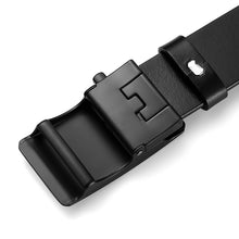 将图片加载到图库查看器,4 Men's Belt Cow Leather Belts Luxury Men Automatic Buckle Genuine Leather Strap Waistband Belts For Men 3.5cm