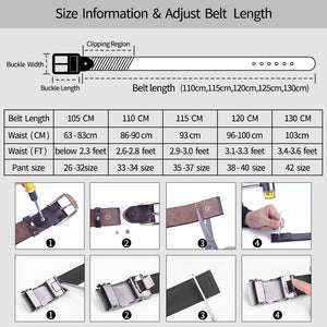 4 belts for men high quality cow genuine leather vintage New designer pin buckle ceinture mens belts luxury