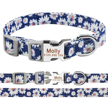 Load image into Gallery viewer, 99  Small Large Personalized Dog Collar Custom Engraved Name ID Tag Boy Girl Dogs Unisex Dog Collar
