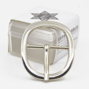02 1pcs Metal 3cm Belt Buckle Casual Polished End Bar Single Pin Belt Buckle Leather Craft Webbing fit for 27-29mm belt Silver