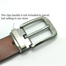 将图片加载到图库查看器,02 1pcs Metal 40mm Belt Buckle Middle Center Half Bar Buckle Leather Belt Bridle Halter Harness belt Accessories Fit for 37mm-39mm