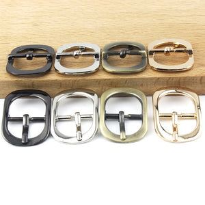 01 Metal Tri Glide Belt Buckle Middle Center Bar Single Pin for Leather Craft Bag Strap Garments bridle halter Harness adjustment