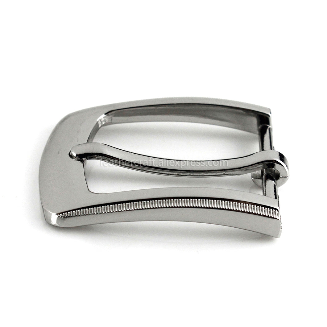 6 1pcs Metal 3cm Belt Buckle Casual Silver End Bar Heel bar Single Pin Belt Buckle Leather Craft Webbing fit for 27-29mm belt