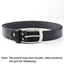 Load image into Gallery viewer, 6 1pcs Metal 3cm Belt Buckle Casual Silver End Bar Heel bar Single Pin Belt Buckle Leather Craft Webbing fit for 27-29mm belt