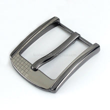 将图片加载到图库查看器,6 1pcs Metal 40mm Belt Buckle Middle Center Half Bar Buckle Leather Belt Bridle Halter Harness belt Accessories Fit for 37mm-39mm