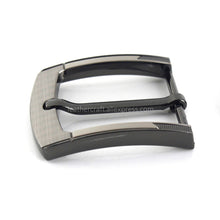 将图片加载到图库查看器,6 1pcs Metal 40mm Laser Belt Buckle Middle Center Half Bar Buckle Leather Belt Bridle Halter Harness Fit for 37mm-39mm belt
