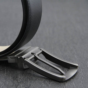 Mens Solid Belt Buckles 35mm Reversible Pin Buckle for men double-sided belt Leather DIY accessories Brushed Metal Belt Buckle