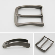 将图片加载到图库查看器,40mm Men's Belt Buckles Pin Buckle for 38-39mm DIY accessories Brushed Metal Nickel Free Single Prong Belt Buckle