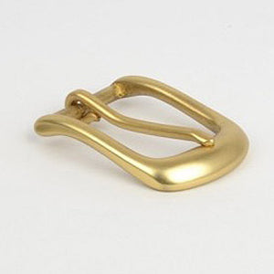 30mm solid brass belt buckle D-shaped Horseshoe buckle casual pin buckle Ms. belt buckle DIY Leather craft Metal Accessories