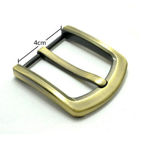 4cm/1.57inch high quality Fashion belt buckle Pin Buckle mens Belt Buckle Brushed Metal DIY Leather Craft Hardware  Accessories