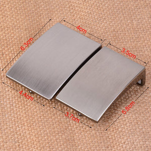 "1.38"" 1.5"" (35/40 mm) Belt Buckle Fashion Solid Brushed Metal buckle for Men's belt Buckles Jeans Accessories DIY Leather Craft"