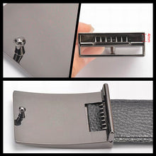 "将图片加载到图库查看器,1.38"" 1.5"" (35/40 mm) Belt Buckle Fashion Solid Brushed Metal buckle for Men's belt Buckles Jeans Accessories DIY Leather Craft"