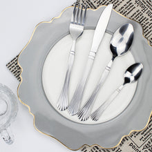 将图片加载到图库查看器,LUCF Royal vintage Style Stainless Steel Western archaistic metal Cutlery retro texture Dinnerware tableware for home hot sale
