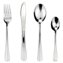 Load image into Gallery viewer, LUCF 4 Pcs/Set traditional Stainless Steel Western Dinnerware Set metal vintage style Cutlery Sets flatware for restaurant