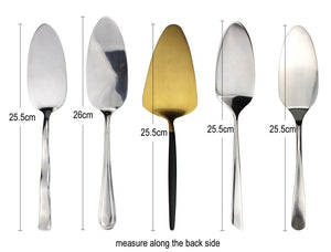 LUCF Useful Western Stainless Steel Cake Server Baking Tool Cake Spatula Cheese Knife Dinnerware Cutlery For family party
