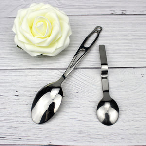 LUCF Stainless Steel Creative Tea Spoon peculiar Coffee Scoop funny metal sugar spoons Flatware for Coffee Drinks Drop shipping