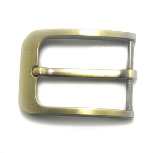 35mm Metal Pin Buckle Fashion Waistband Buckles Belt DIY Leather Craft Buckle Black Silver Bronze Men's Solid Buckle Accessories