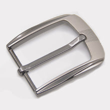 Load image into Gallery viewer, 35mm Metal Pin Buckle Men Waistband Buckles Belt DIY Leather Craft Buckle Black Silver Bronze Men's Buckle Accessories Wholesale