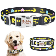 将图片加载到图库查看器,92 Adjustable Personalized Dog Collar Puppy Dogs Name ID Tag Custom Engraved S-L
