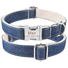 将图片加载到图库查看器,91 Personalized Dog Collar Nylon Small Large Custom Engraved Buckle Name Puppy XS-L