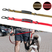 将图片加载到图库查看器,93  Extendable Nylon Long Dog Lead Leash Strong Heavy Duty Training Dual Handle Strong Dog Lead