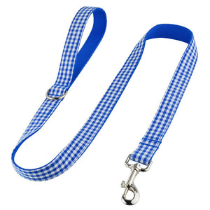 93 Dog Leash Tactical Bungee Elastic Rope Dual-Handle Reflective Nylon Pets Leads