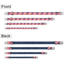将图片加载到图库查看器,91 Personalized Dog Collar Nylon Adjustable Free Engraved Name Small Large Pet