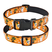 Load image into Gallery viewer, 99 Small Medium Large Dog Collar Halloween Adjustable Male Female Puppy Collar S-XL