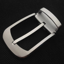 Load image into Gallery viewer, Meetee 1pc ID35mm High-grade Pure Copper Belt Buckles Solid Brass Pin Buckle Belts Head DIY Leathercrafts Hardware Parts YK068
