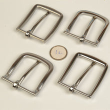 Load image into Gallery viewer, high quality solid stainless steel men DIY belt pin buckle 2pcs/lot slim edge