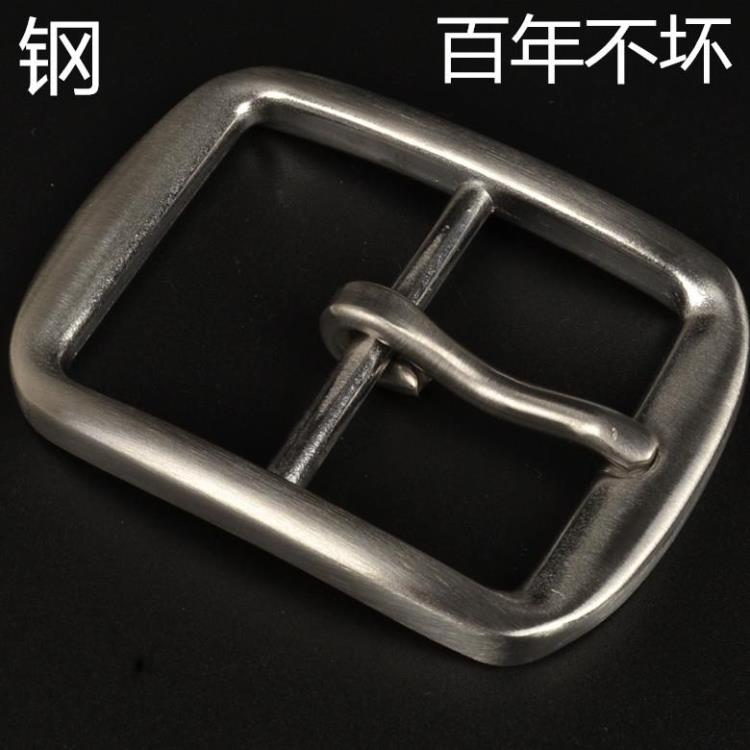 free shipping long time use metal men stainless steel buckle DIY design leather craft accessries 3pcs/lot